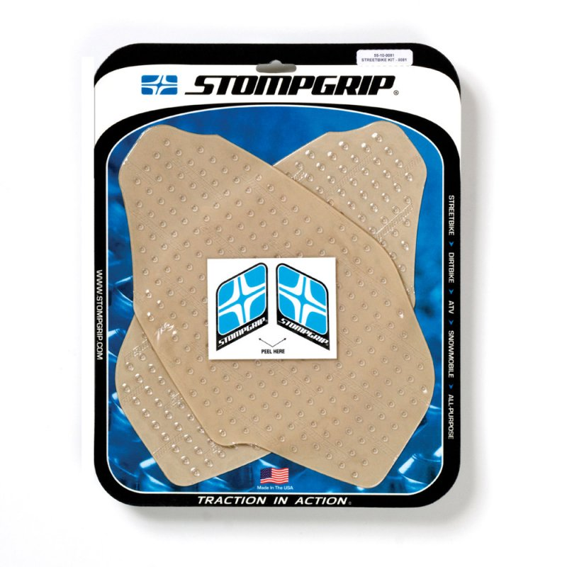 Stompgrip - Volcano Traction Pads - klar - 55-10-0081