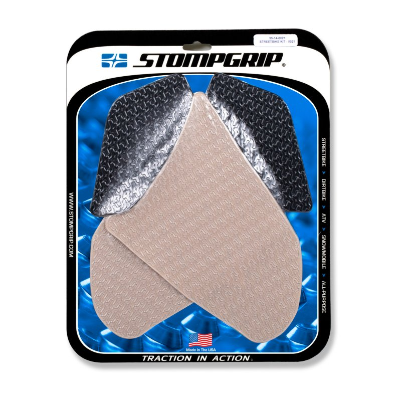 Stompgrip - Icon Traction Pads - klar - 55-14-0021