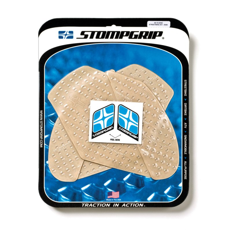 Stompgrip - Volcano Traction Pads - klar - 55-10-0040