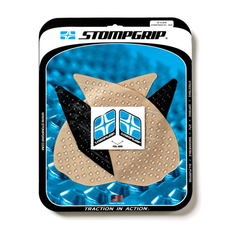 Stompgrip - Volcano Traction Pads - klar - 55-10-0038