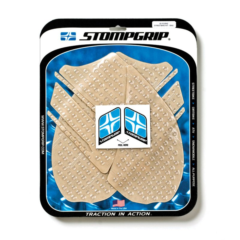 Stompgrip - Volcano Traction Pads - klar - 55-10-0042