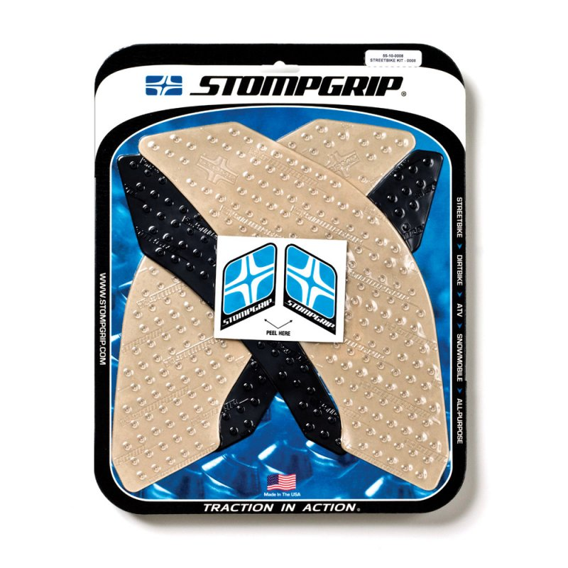 Stompgrip - Volcano Traction Pads - klar - 55-10-0008