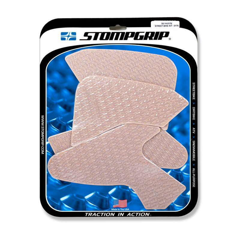 Stompgrip - Icon Traction Pads - klar - 55-14-0176